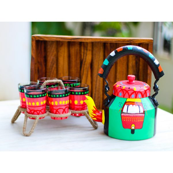 Handpainted Kettle Set 5025-S