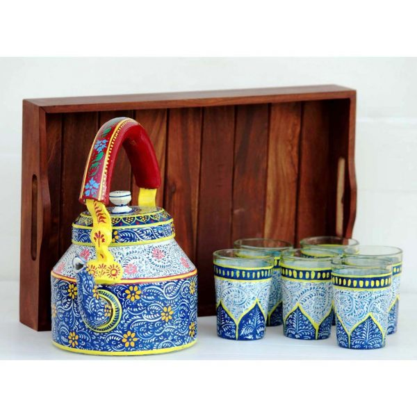 Handpainted Kettle Set 5065-S