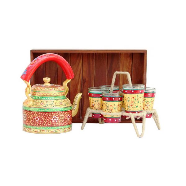 Handpainted Kettle Set 5075-S