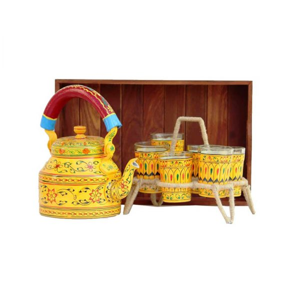 Handpainted Kettle Set 5077-S