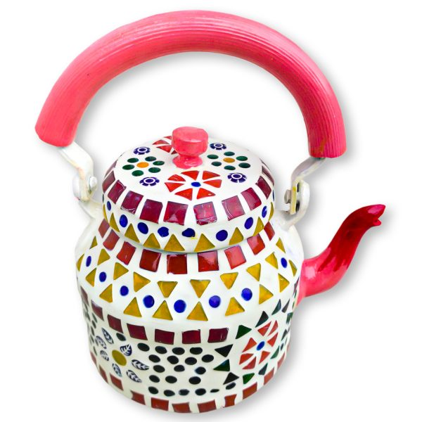 Handmade Mosaic Work Kettle 5120