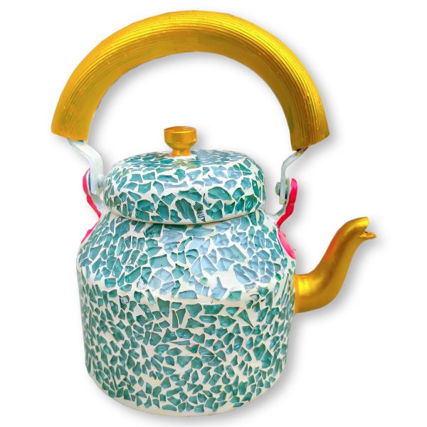Handmade Mosaic Work Kettle 5121