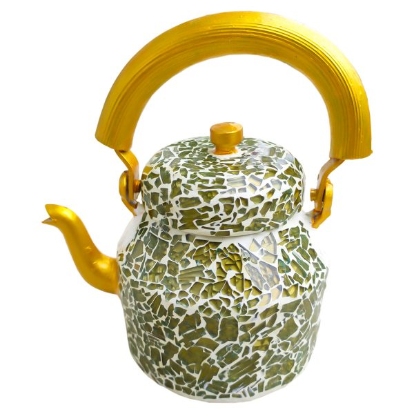 Handmade Mosaic Work Kettle 5122