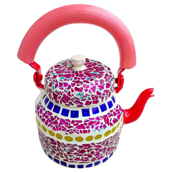 Handmade Mosaic Work Kettle 5127