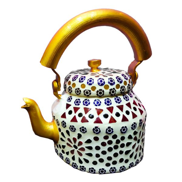 Handmade Mosaic Work Kettle 5128