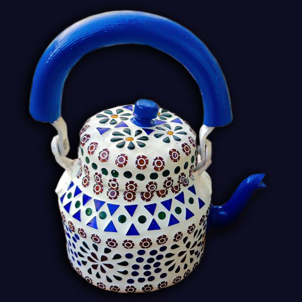 Handmade Mosaic Work Kettle 5129