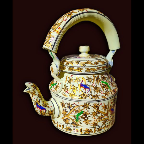 Handmade Mosaic Work Kettle 5130
