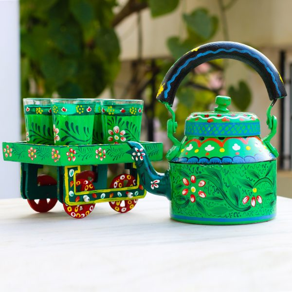 Handpainted Kettle Set 5156-T