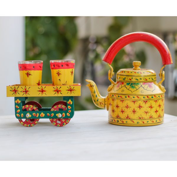 Handpainted Kettle Set 5157-T