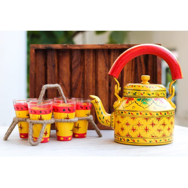 Handpainted Kettle Set 5157-S