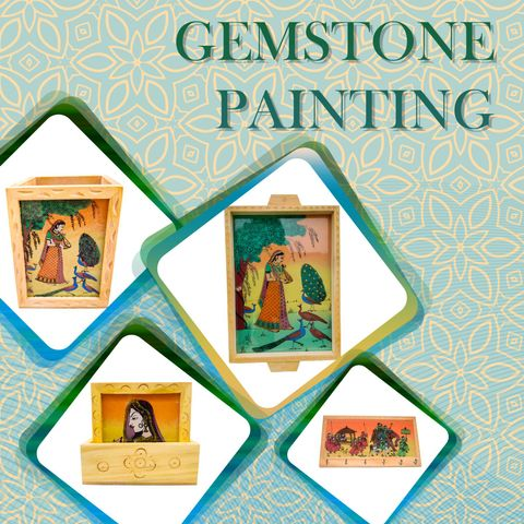 Gemstone Painting Articles