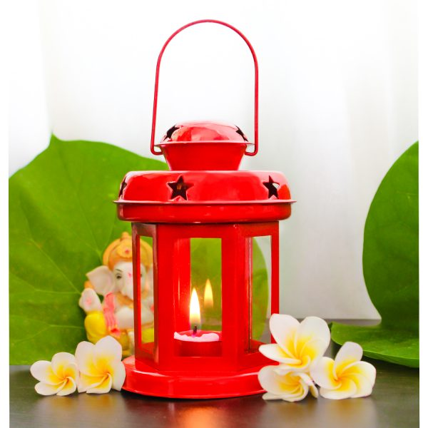 Red Color Hanging Star Lantern