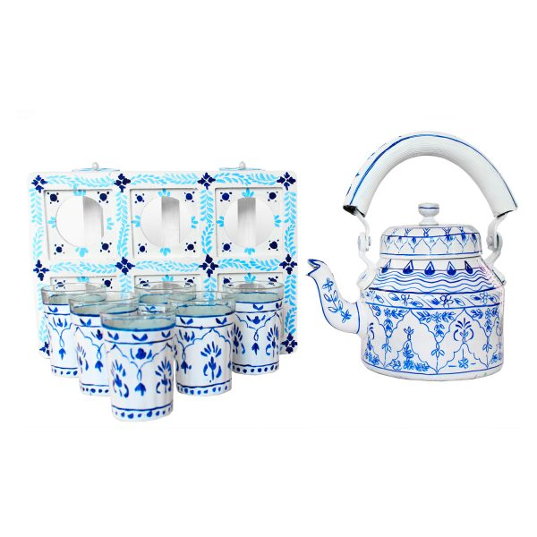 Handpainted Kettle Set 5170-T