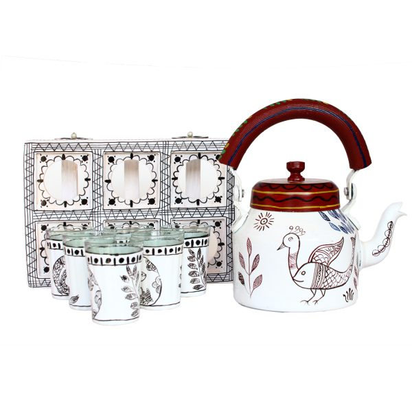 Handpainted Kettle Set 5169-T