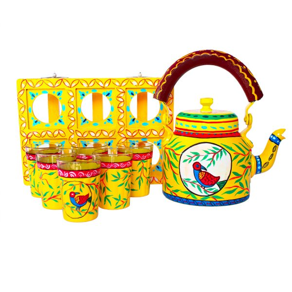 Handpainted Kettle Set 5165-T