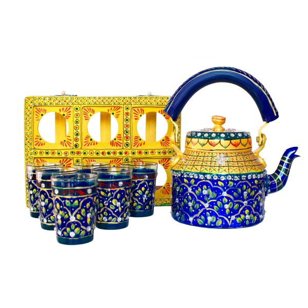 Handpainted Kettle Set 5166-T