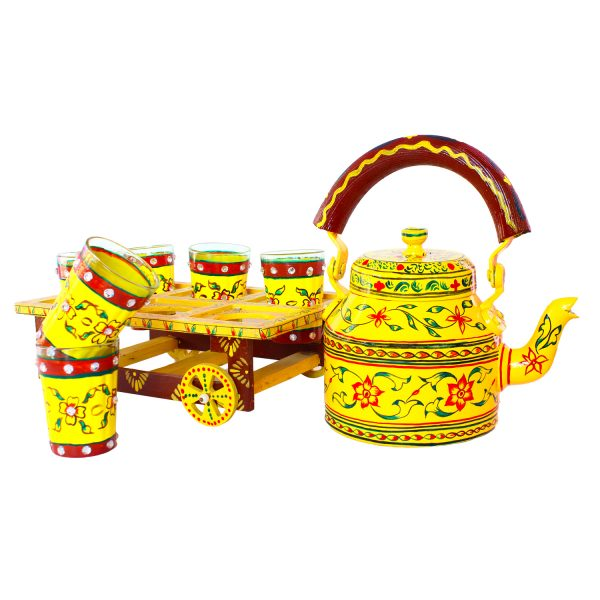 Handpainted Kettle Set 5168-T