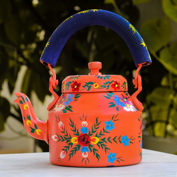 Handpainted Kettle 5155 Multicolor