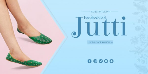 simple banner jutti